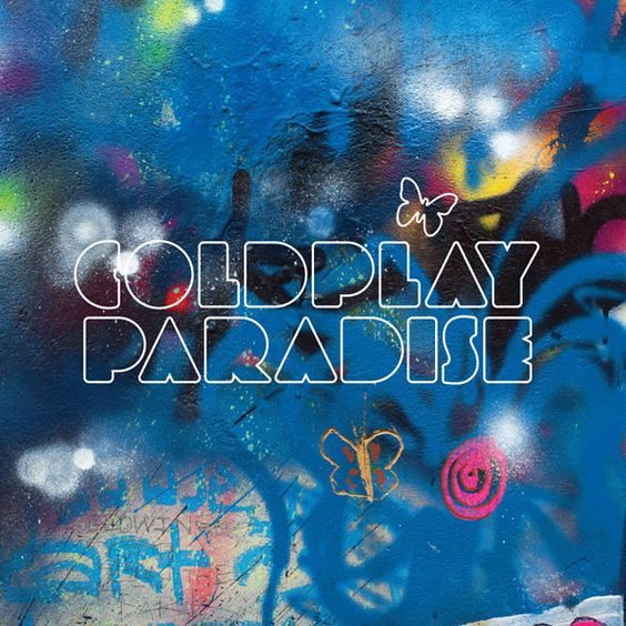 Coldplay – Paradise (single cover art)