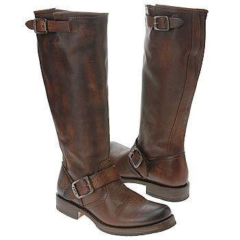 New Womens Frye Veronica Slouch Boots 77605 Dark Brown US 8.5 | eBay