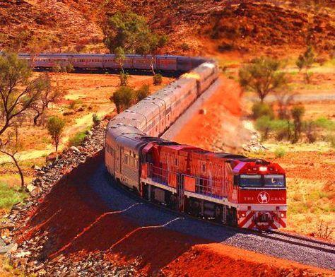 Trenes más largos del mundo