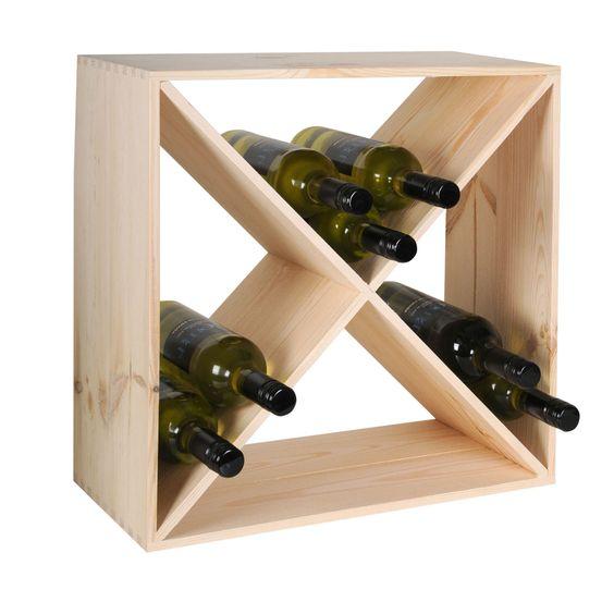 Weinregal Cube 48