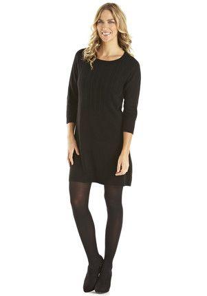 F&F Supersoft Cable Knit Jumper Dress