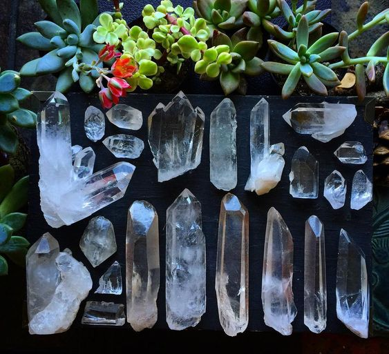 white or clear crystal to feng shui your home- ourmindfullife.com