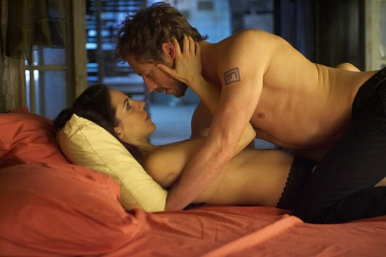 "Anna Silk and Kris Holden-Reid portray the charactres of Bo and Dyson respectively in the tv show ""Lost Girl""........"