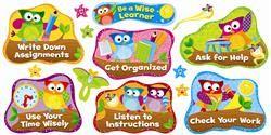 Owl-Stars!™ Study Habits Bulletin Board Set, Mardel