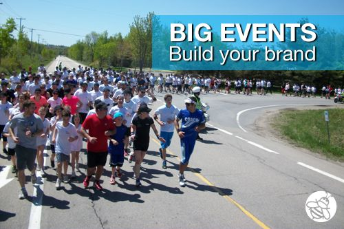 Big Events Build Your Brand: Even if you can't differentiate your brand on