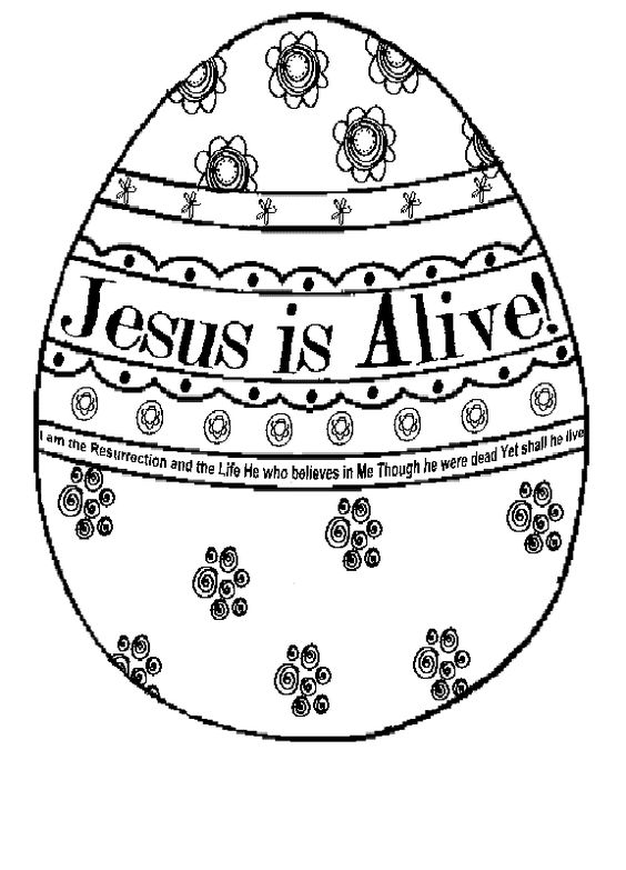 It's just a picture of Lucrative jesus is alive coloring page