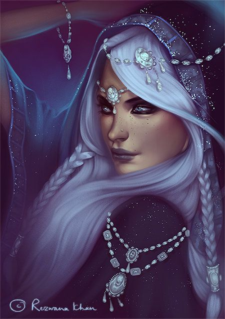 :The_Ice_Queen: by RezwanaDimech on deviantART