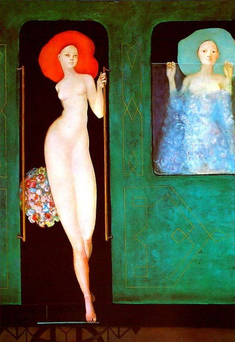 Splendid Devil /// Leonor Fini: