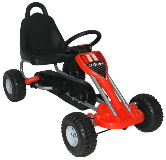 Go Kart My First Rot Ab 3 Jahren Kinder Gokart Go Kart Metallverkleidung