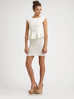 Alice + Olivia - Victoria Peplum Dress: Alice Olivia, Peplum Dresses