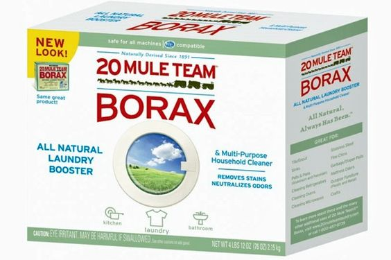 A bunch of uses for Borax