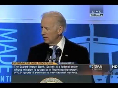 Vice President Joe Biden Warns of Implantable Microchips Tracking People