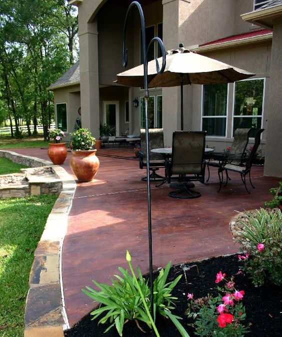 How To Get Started With Cement Patio