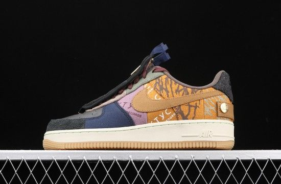 Nike Air Force 1 Low Travis Scott Cactus Jack Cn2405 900