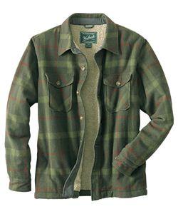 Men&39s Charley Wool Shirt Jac | Woolrich® The Original Outdoor