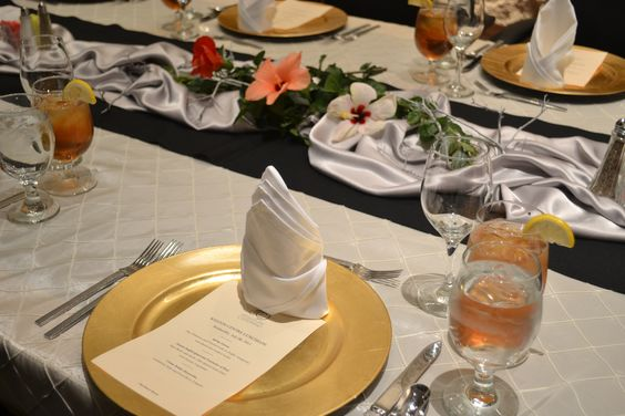 A great luncheon setting