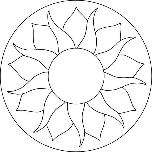 Printable Mosaic Templates Download Them Or Print Mosaic Patterns Free Mosaic Patterns Sunflower Mosaic