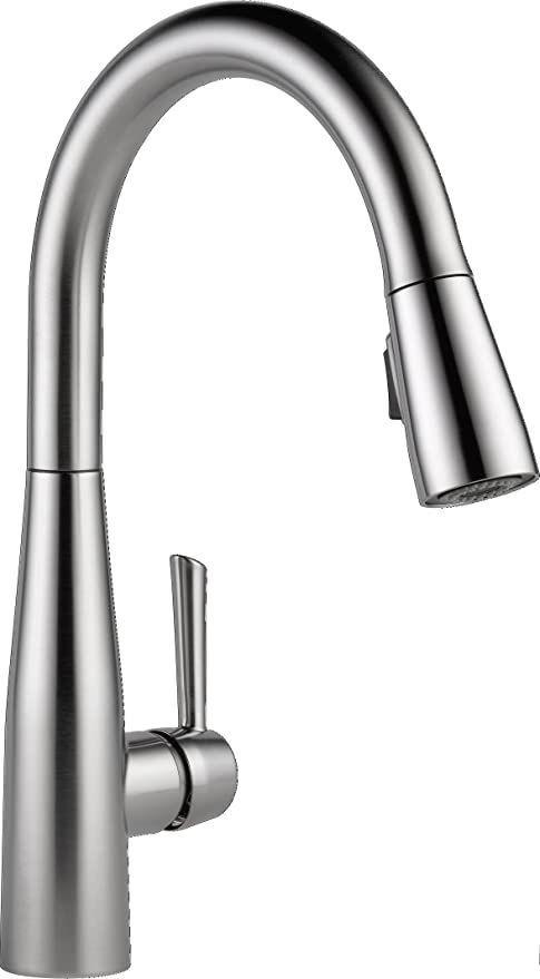 delta faucet essa pull down kitchen