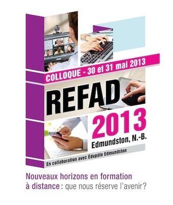 Colloque REFAD 2013