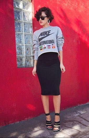 フェミニンスポーティタイプの女子必見のコーデ☆参考にしたいスポーティー系スタイル・ファッションのアイデア♪