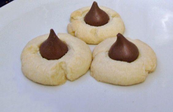 Hershey Kiss Cookies | Recipe | Hershey kiss cookies, Hershey's kisses ...