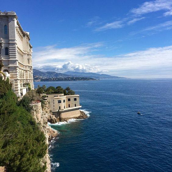 #Rocher Monte Carlo  from #Montecarlo #Monaco