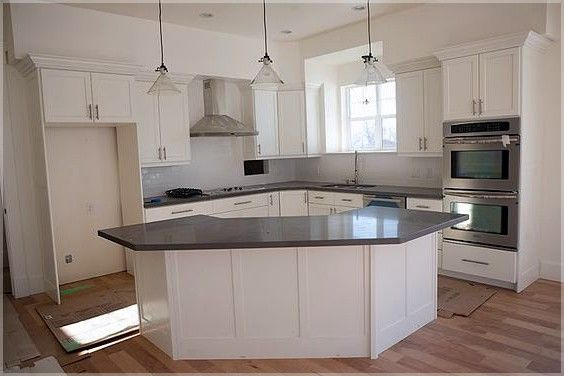 L Shaped Kitchen With Island Pics Kitchen Island Ideas For Long