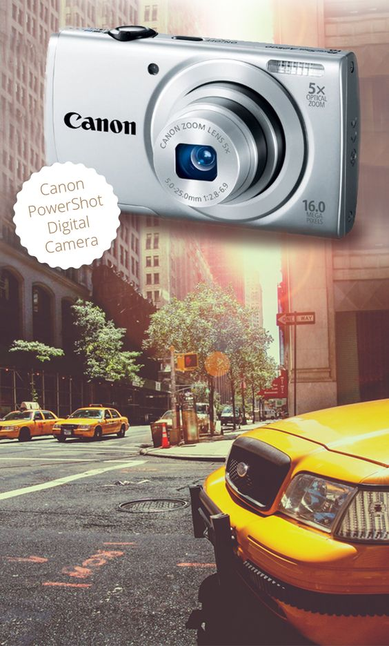 The internet has chosen the best digital cameras in the world! Small, compact and can easily fit into a pocket, these make for great travel cameras.