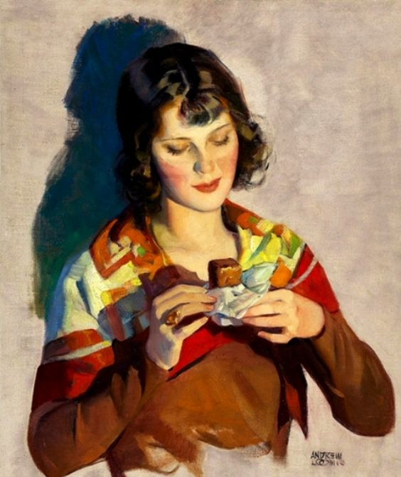 Loomis, William Andrew (b,1892)- Chocolate Bar