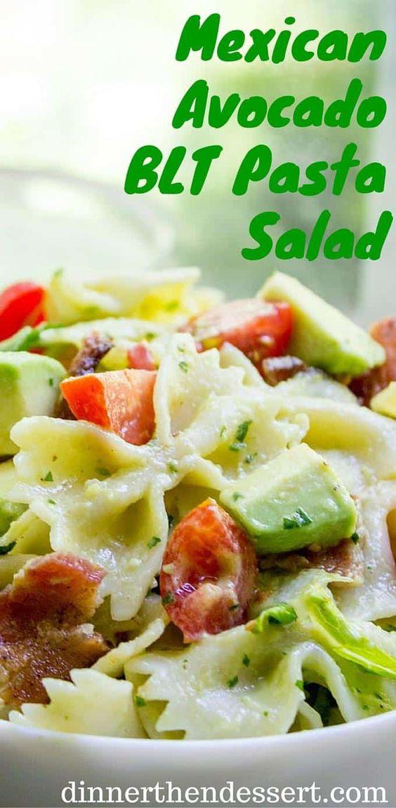 ... Pasta Salad   Recipe   Blt Pasta Salads, Lime Dressing and Pasta Salad