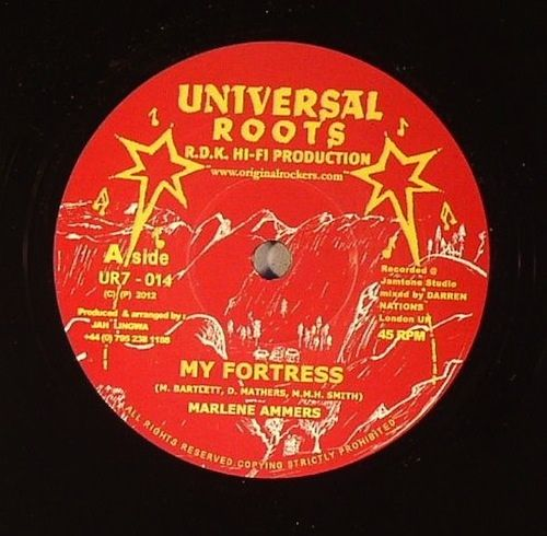 """Marlene Ammers - My Fortress: buy 7"""" at Discogs"""