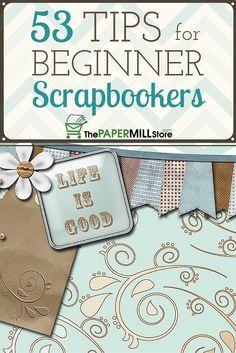 blog scrapbooking ideas beginners