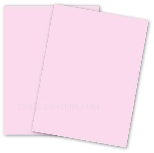 Basis Colors 11 X 17 Cardstock Paper Pink 80lb Cover 100 Pk In 2020 Cardstock Paper Paper Card Stock