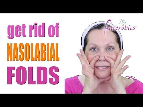 Get Rid Of Nasolabial Folds Laugh Lines And Smile Lines Wrinkles Permanently Facerobics Youtube Face Exercises Face Yoga Nasolabial Folds