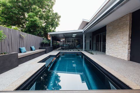 Vice President Fibreglass Pool Freedom Pools Cool Swimming Pools Backyard Pool Landscaping Backyard Pool Designs