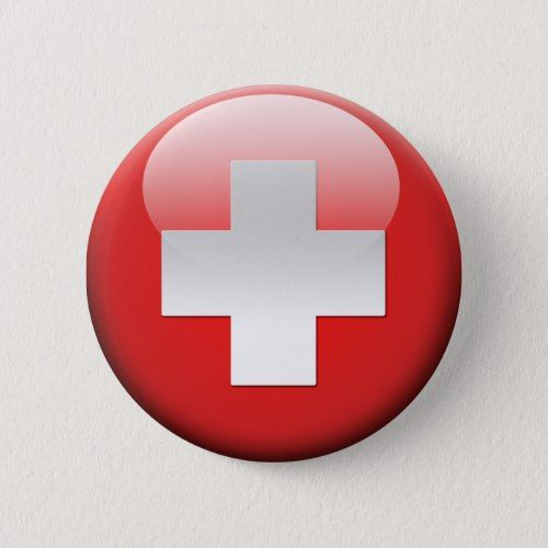 Swiss Flag 2 0 Button Zazzle Com Swiss Flag Switzerland Flag Flag