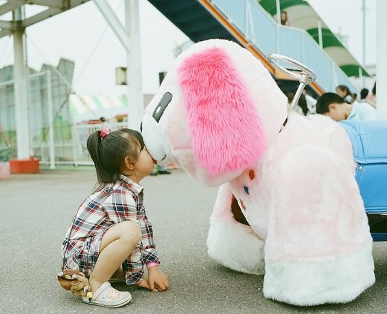Young Girl's Adorable Kiss Me Please Project - My Modern Metropolis - Kiss Me Please Project by Nagano Toyokazu