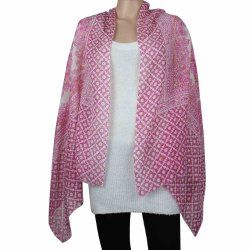 Colorful Lightweight Scarf Wool Accessories Women Indian Clothing
