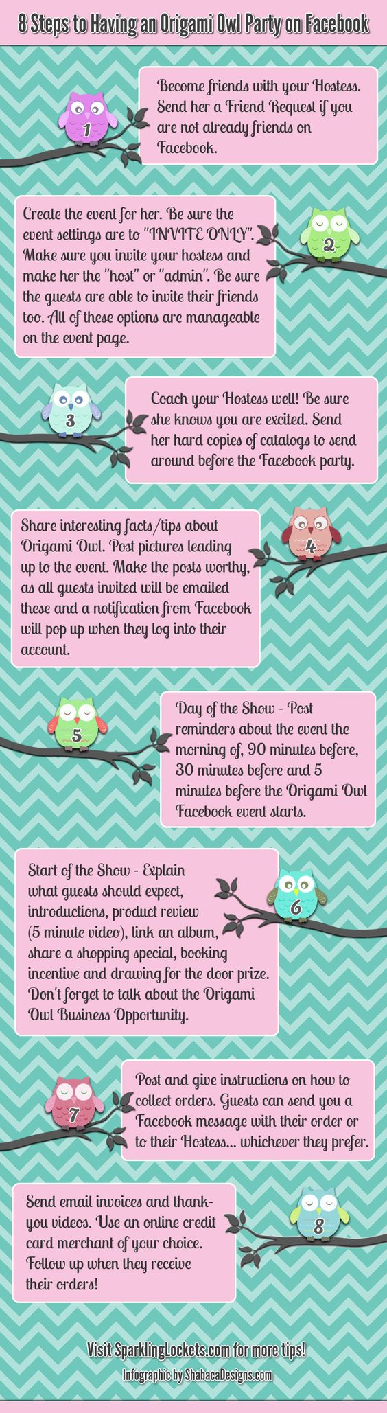 Direct Sales Infographic facebook party outline idea  - you can definitely do this with any business :)
