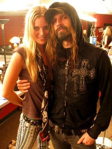 Rob Zombie and Sherrie Moon Zombie...love these two! Total girl-crush!
