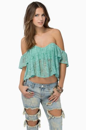 Coup De Lace Top
