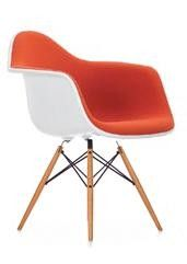 Eames daw chair upholstered
