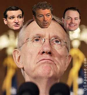 In a letter to Senate majority leader Harry Reid(D) dated March 22nd, Republican Senators Rand Paul of Kentucky, Mike Lee of Utah and Ted Cruz of Texas said the
