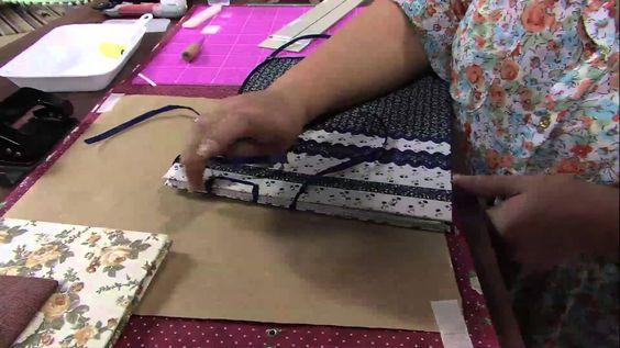 Mulher.com 02/04/2013 Mônica Quirino - Álbum de Fotos em Cartonagem Parte 2
