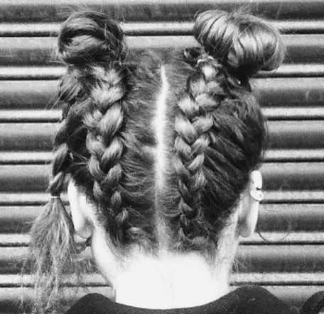 Festival braid hair