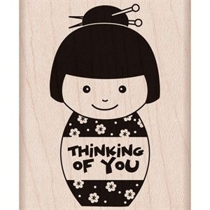Picture of Hero Arts Mounted Rubber Stamps 4X1