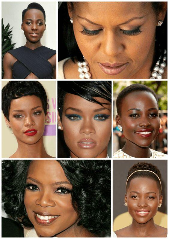 Melhores maquiagens para negras para festas e casamentos
