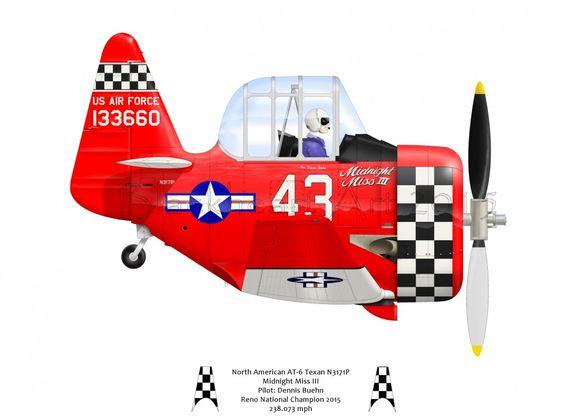 Air Racers   Pat Cherry's Blackheart Art