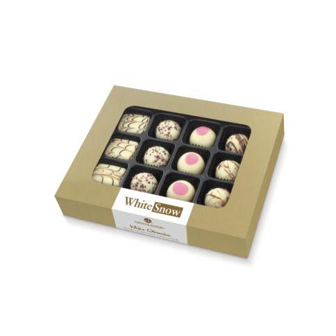 Obsession White - 12 Pralinen aus weißer Schokolade mit leckeren Füllungen