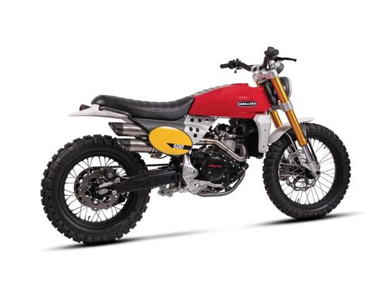 fantic-caballero-500-scrambler-1 motorcycles Pinterest - tresen f r k che